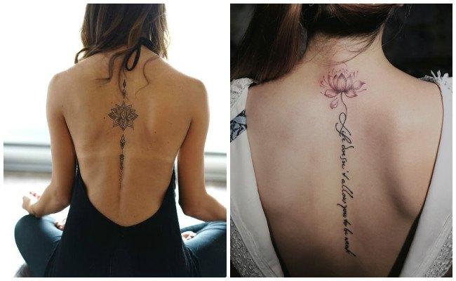 Tatuaje de flor de loto para hombre