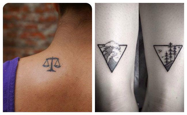 Tatuaje minimalista para parejas