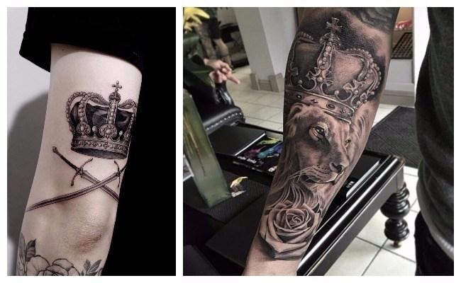 Tatuaje de rey y reina