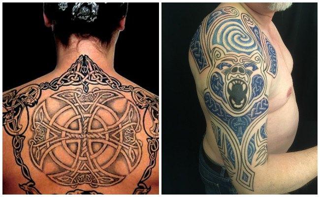 Tatuaje de simbolo celta