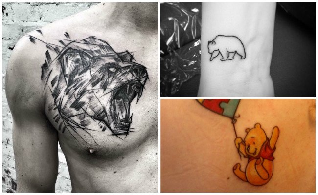 Tatuaje de un oso
