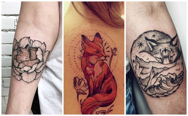 Tatuaje de zorro principito
