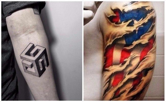 Tatuajes 3d asombrosos