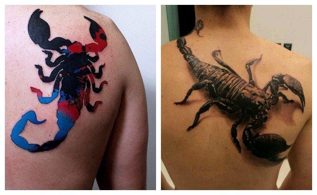 Tatuajes de alacranes