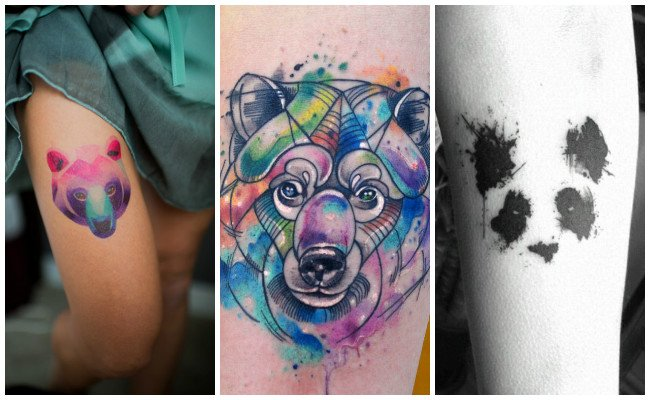 Tatuajes de animales osos