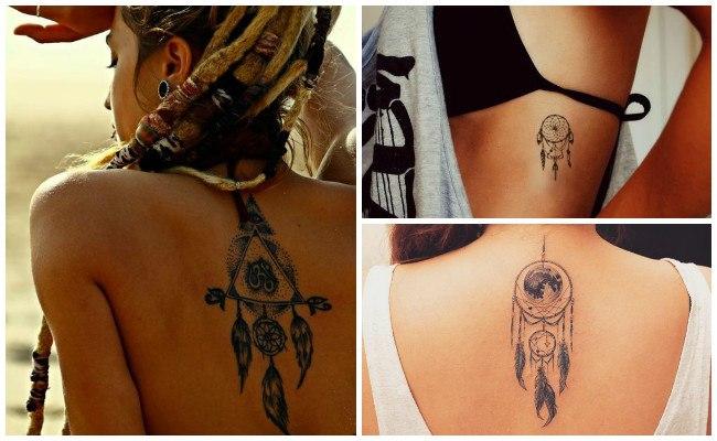 Tatuajes de atrapasueños indios