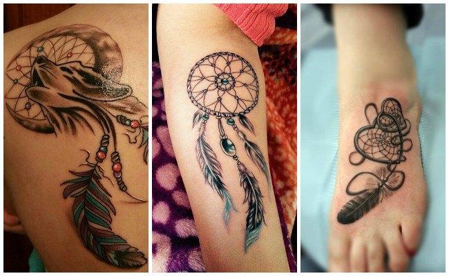 Tatuajes de atrapasueños pequeños