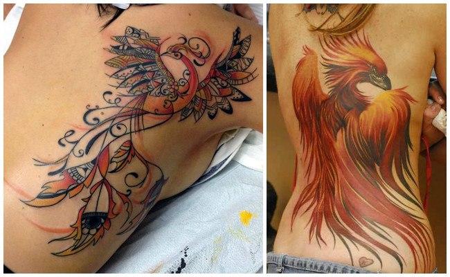 Tatuajes de ave fénix y significado