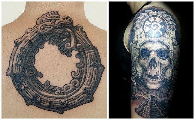 Tatuajes aztecas para hombres