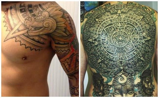 Significados de los tatuajes aztecas