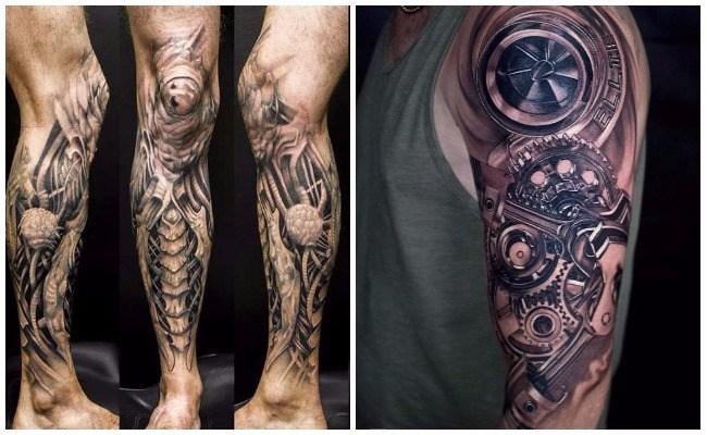 Tatuajes biomecánicos signficado