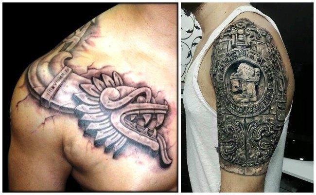 Tatuajes del calendario azteca