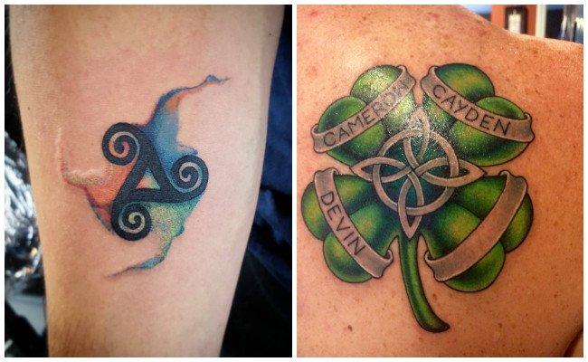 Tatuajes celtas para mujeres