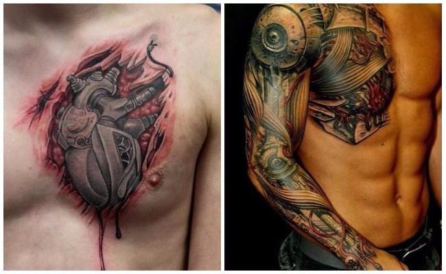 Tatuajes como máquinas