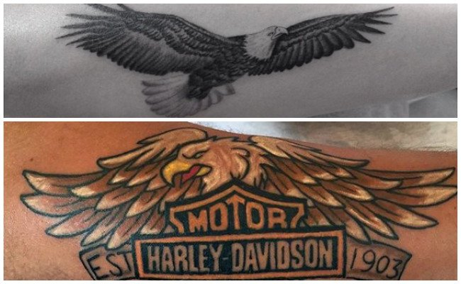 Tatuajes de águilas aztecas