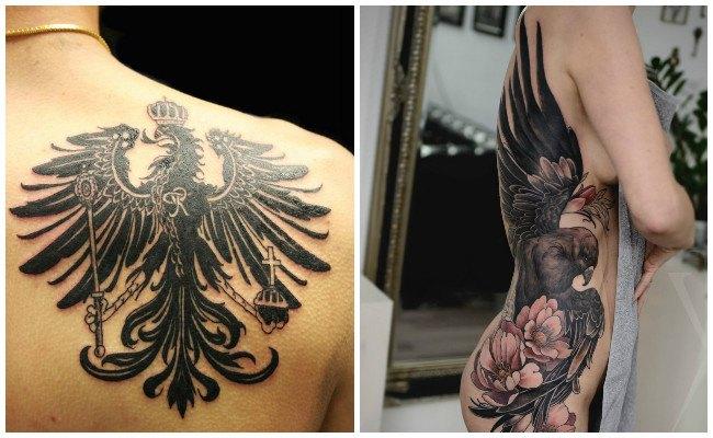 Tatuajes de águilas del américa