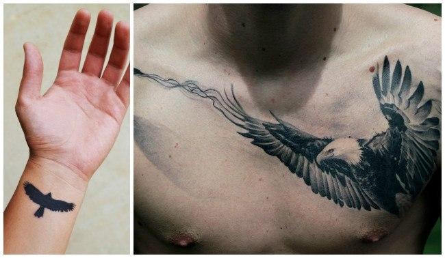 Fotos de tatuajes de águilas