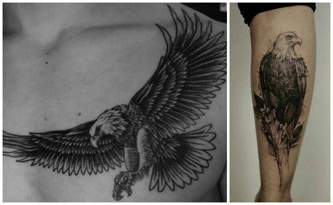 Tatuajes de águilas y significado