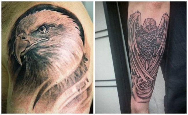 Tatuajes de águilas tribales