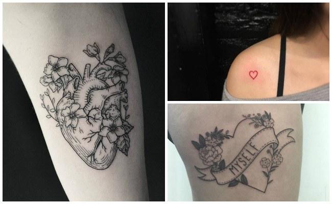 Diseños De Tatuajes De Corazones Y Significados Hombre Y Mujer