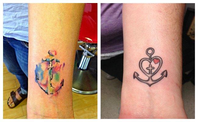 Tatuajes de anclas y el signficado