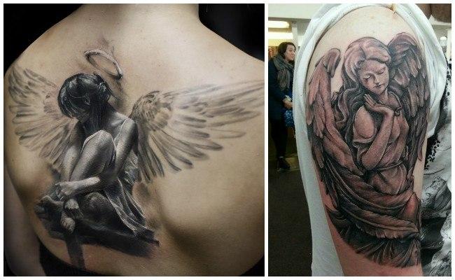Tatuajes de ángeles para mujer