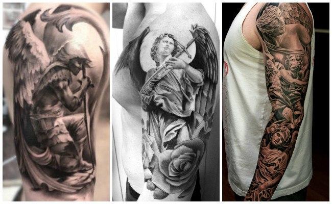 Tatuajes de ángeles protectores