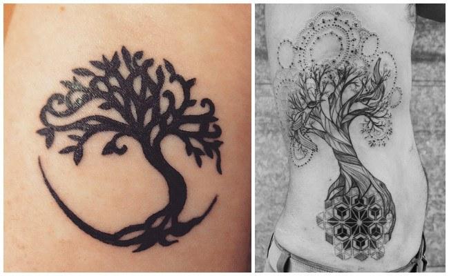 Tatuajes De árbol De La Vida Significado Celta Para Hombre Y Mujer
