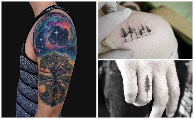 Tatuajes de árboles muertos