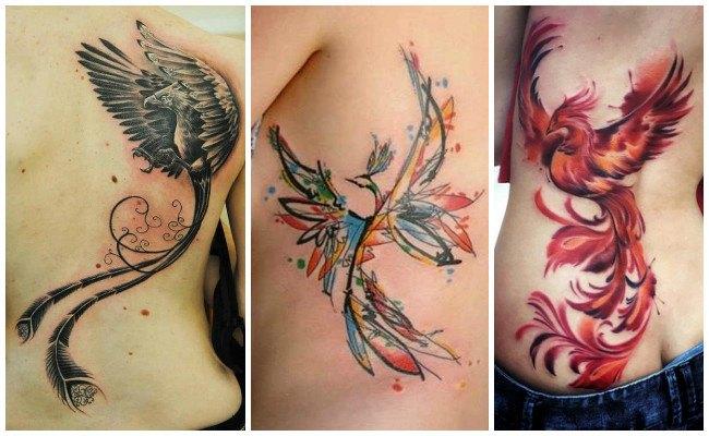 Tatuajes de ave fénix y su significado