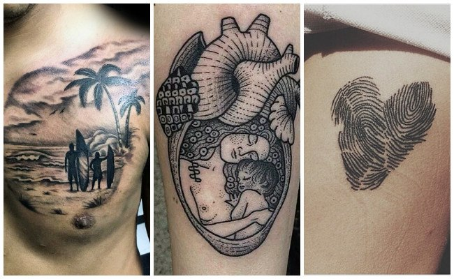 Tatuajes de bebés con alas