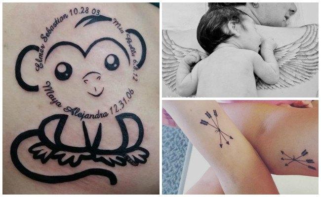 Tatuajes de bebés recién nacidos