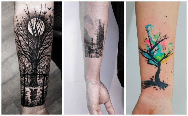 Lobo Y Bosque Wolf And Wood Franky Lozano Tattoo Valencia