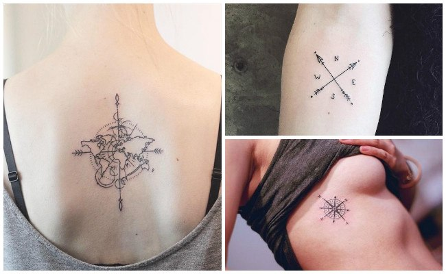 Tatuajes de brújulas e imágenes