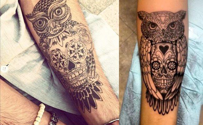 Tatuajes De Búhos O Lechuzas Significado Imágenes