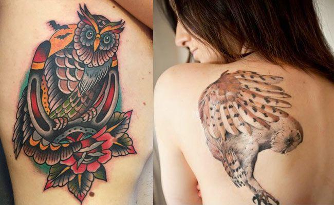 Tatuajes De Buhos O Lechuzas Significado Imagenes