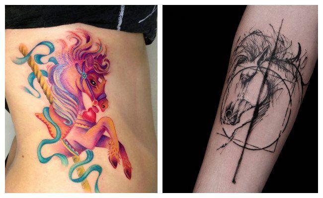 Tatuajes de caballos bonitos