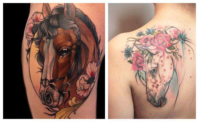 Tatuajes de caballos españoles