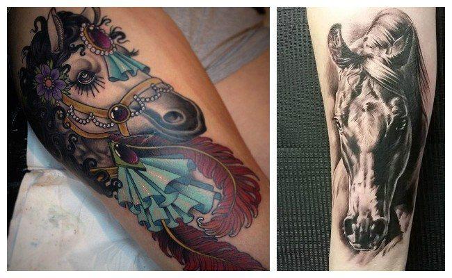 Tatuajes de caballos y su significado