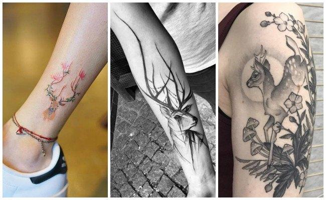 Diseños de tatuajes de ciervos