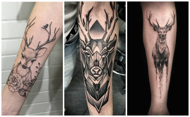 Tatuajes de ciervos pequeños