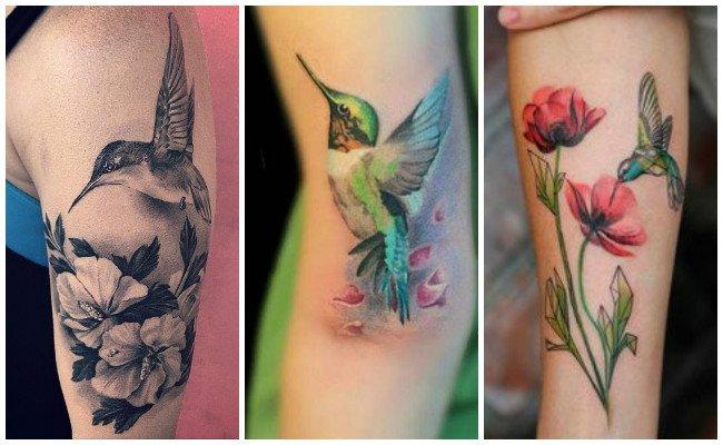 Tatuaje de colibrí y significado