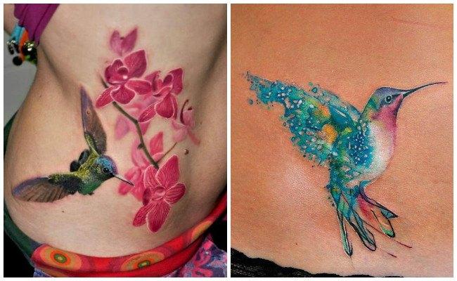 Tatuajes de colibríes pequeños