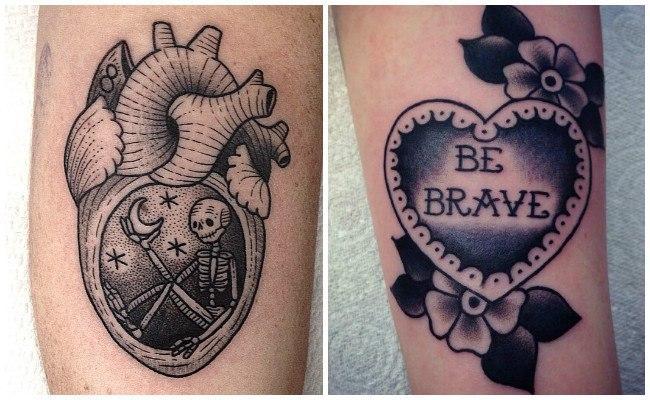 Dise 241 Os De Tatuajes De Corazones Y Significados Hombre Y Mujer