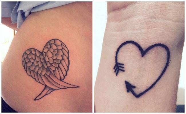 tatuajes de corazon