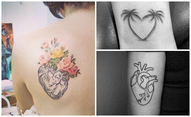 Tatuajes de corazones y llaves