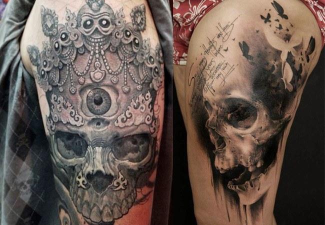 Tatuajes De Calaveras Y Craneos, Diseños Y Significados
