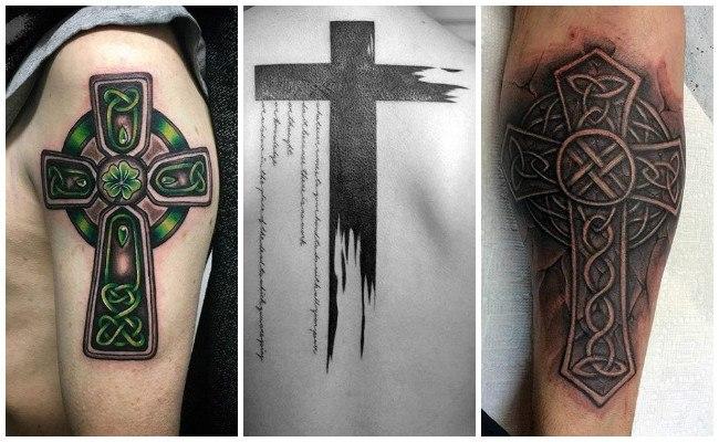 Tatuajes de cruces en la mano