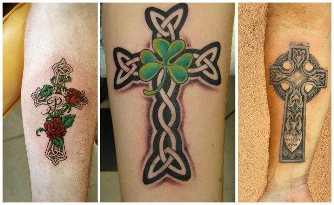 Tatuajes de cruz en la muñeca