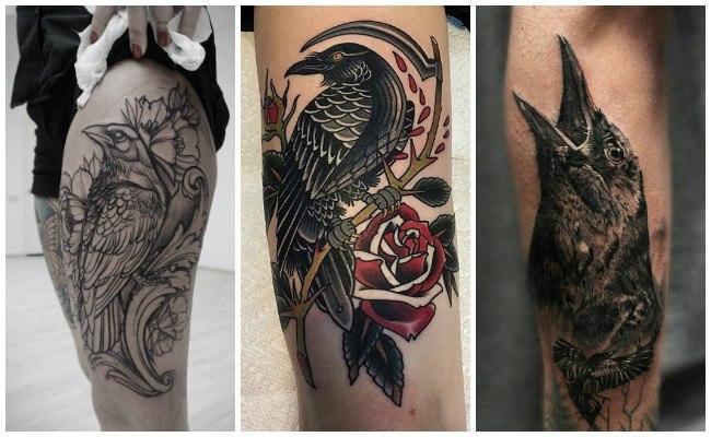 Tatuajes de cuervos y su significado